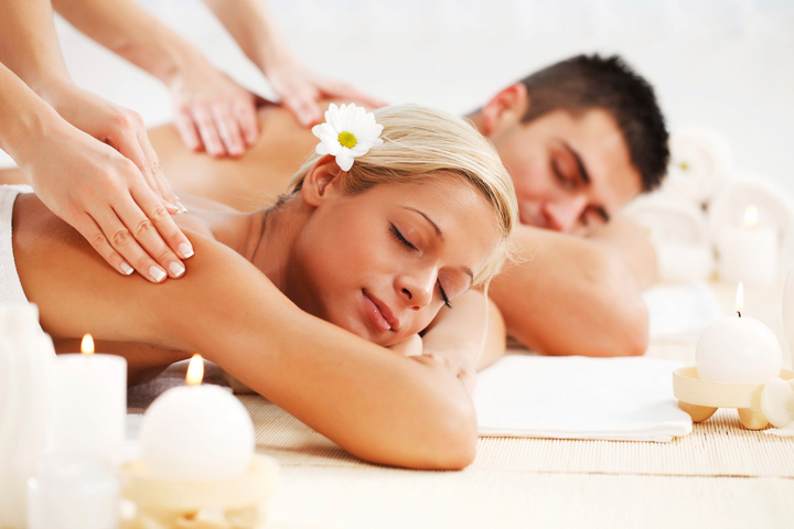 S'mores Couples Massage Package